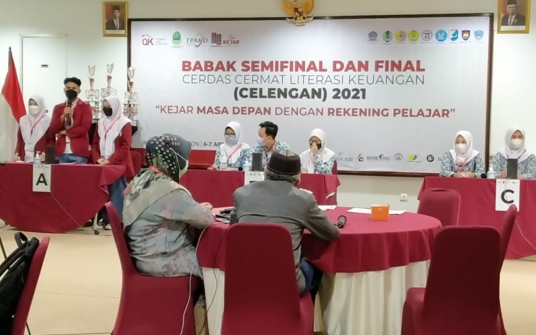 SMA Telkom Sekar Kemuning Semifinalis CELENGAN OJK 2021